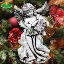Angyalka karácsonyi dekoráció