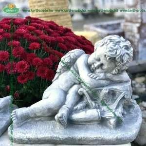 Angyalka szobor Ámor nyila