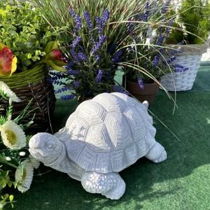 Sziklakerti dekoráció kő teknős