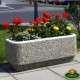 Gyöngykavicsos virágláda