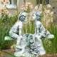 gyerekek kerti szobor