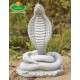 Kő szobor kobra kígyó