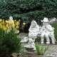 Anyó és apó kerti szobrok