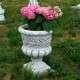 Nagy virágtartó kő kaspó fagyálló