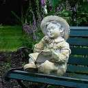 fiú szobor