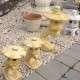 eladó kerti kő lámpa