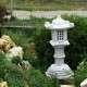 Kínai kerti dísz lámpás