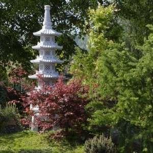 Pagoda kő lámpás 4 szintes