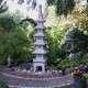 Pagoda kő lámpás 5szintes