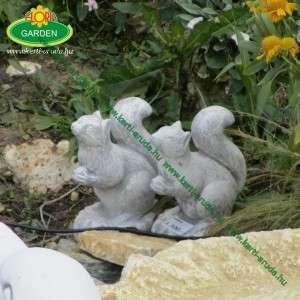 Kerti díszek mókuska