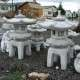 Pagoda kerti lámpás