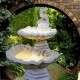 Halacskás 2 színtes kerti csobogó
