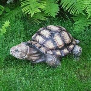 Óriás teknős kerti dísz
