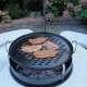 Faszenes grillsütő