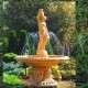 Exkluzív szobros szökőkút