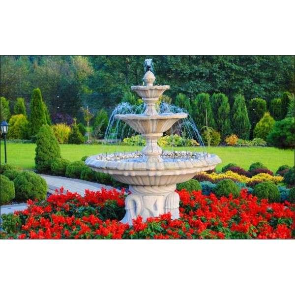 Városszépítés különleges szökőkutak Flora Garden