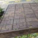Kertdíszítő fa utánzatú térkő vagy lépegető