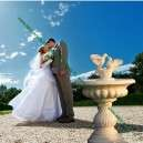 Esküvői csobogó dekoráció