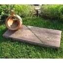 Kerti fa tipegők palló utánzat kőből 40