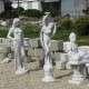 dekorációs szobrok kerti szobrok