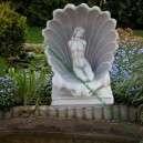 Lakás és kert dekoráció kagylós lány