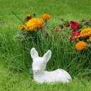 kerti szobor kis őzike