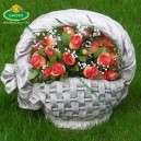 virágtartó kosár