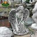 Sírkő szobrok