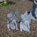 Angyalos szobor dekoráció