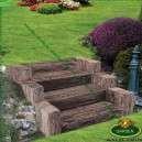 tartós kerti lépcső