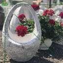 Modern virágtartó kosár