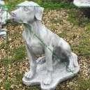 Vizsla kutya szobor