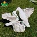 Nászajándék galambpár