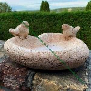 Kerti kő madáritató