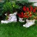Bakancs virágtartó