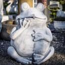 Béka szobor