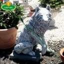 Üllő farkas kutya szobor