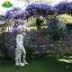 Dávid kerti szobor