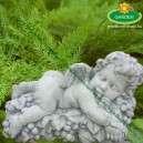 Rézangyal szobor dekoráió