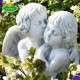 angyalok szobor