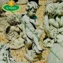Angyal szobor kültéri dekoráció