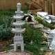Pagoda kő lámpások