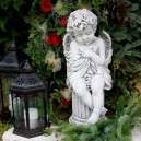 Oszlopon ülő angyal