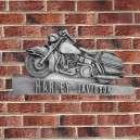 Harley Davidson fali dekoráció