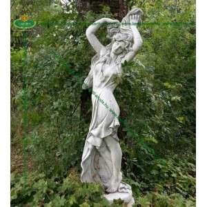 Női szobor szép Heléna
